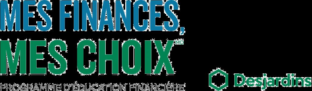 Logo Mes Finances, Mes choix programme d'éducation financière de Desjardins