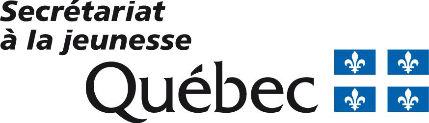 Logo du Secrétariat à la jeunesse du gouvernement du Québec