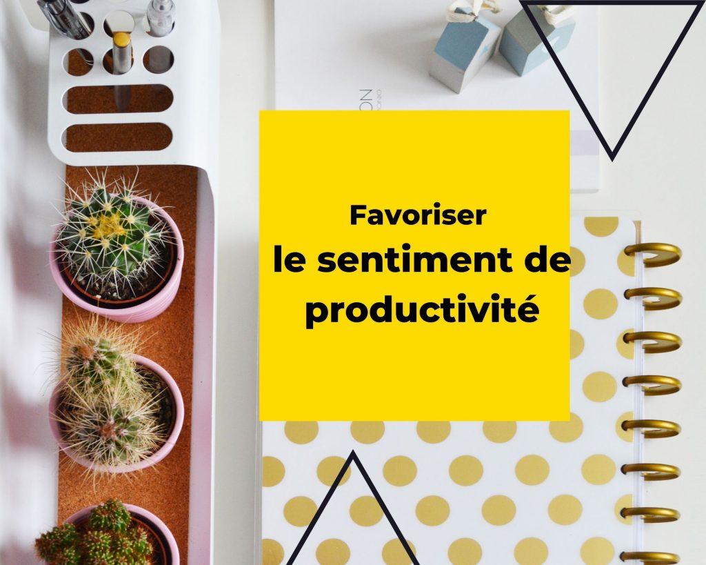 Sentiment de productivité
