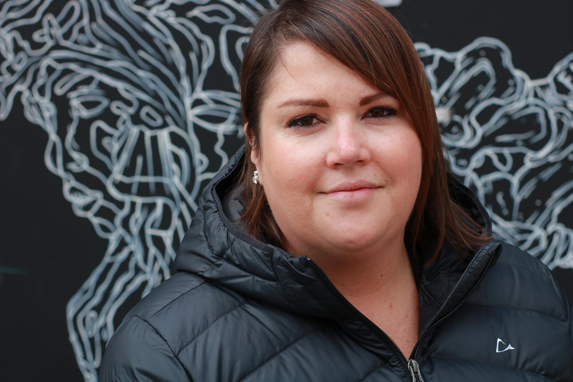 Audrey-Maude-Poitras agente à l'accueil Support administratif au CJERN