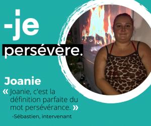 Témoignage de Joanie participante du CJE
