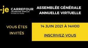 Invitation assemblée générale annuelle 2021 du CJREN